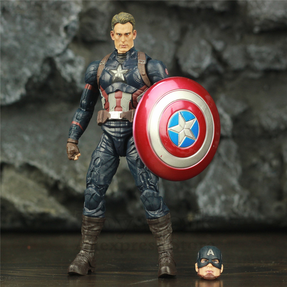 Marvel Legends Steven Rogers Captain America 6
