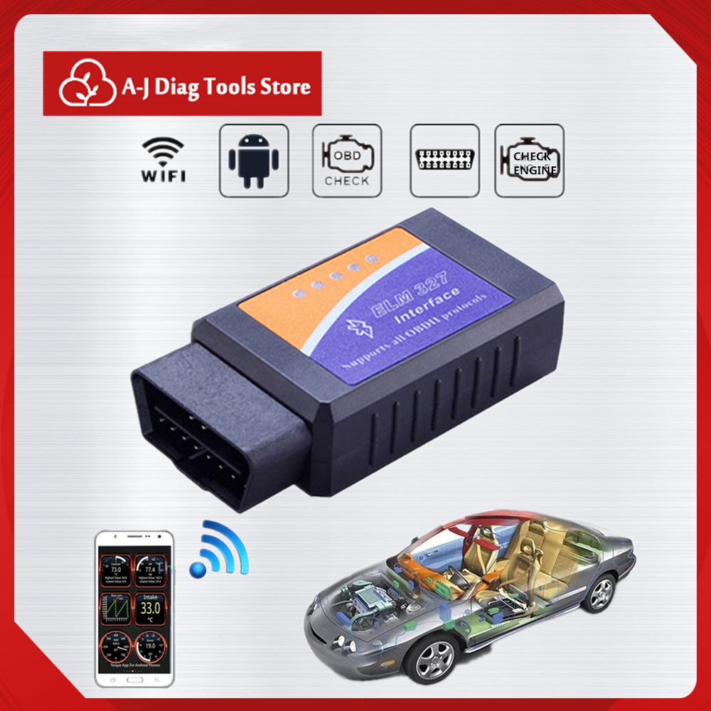 Professional Diagnostic Scanner Code Reader Tool Ethernet To OBD Auto Tools ELM 327 Bluetooth OBD2 Car Accessories Technical