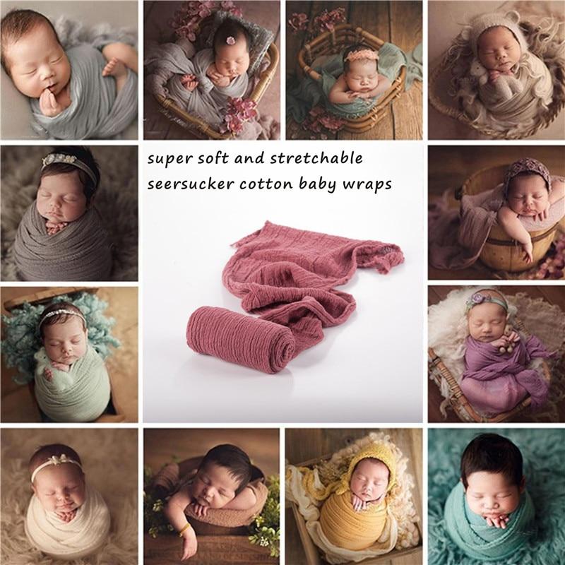 Newborn Photography Props Newborn Wraps Baby Cotton Props Photo Blanket