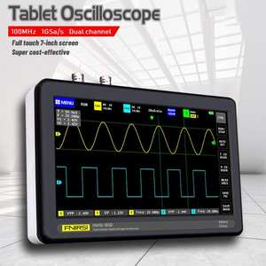 Oscilloscope Tablet Sampling Rate Bandwidth Digital Mini 1GS High-Quality 2CH 100mhz