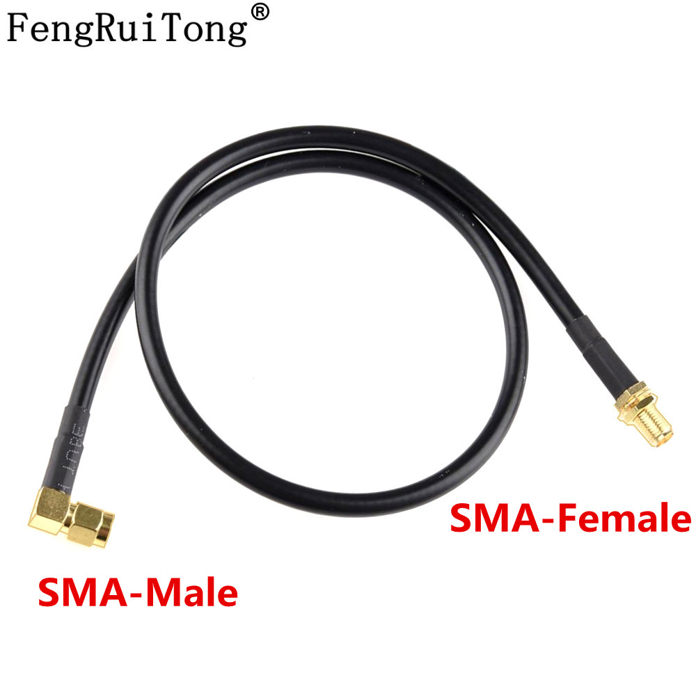 60cm /110cm SMA Male To Female Radio Coaxial Extend Cable Antenna For Baofeng UV-5R UV-82 UV-9R Walkie Talkie Extension Cord