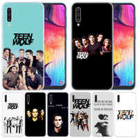 luxury Silicone Case TV Show Teen Wolf for Samsung Galaxy A50 A70 A80 A40 A30 A20 A10 A20E A2 CORE A9 A8 A7 A6 Plus 2018 Cover