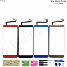 Mobile Phone Touch Screen For Allcall DJ90 Touch Screen Front Glass Digitizer Touch Panel Lens Sensor Front Glass Adhesive