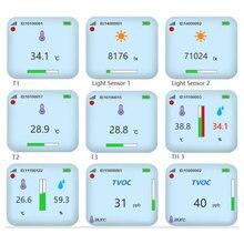 Sıcaklık kablosuz sensör 433mhz kablosuz sıcaklık veri kaydedici 868/915mhz kablosuz sıcaklık dedektörü verici
