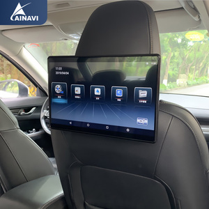 Car TV Headrest Monitor Touch Screen 12.5 Inch Android 4K 1080P WIFI/Bluetooth/USB/SD/HDMI/FM/Mirror link movie Video player(China)