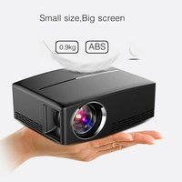 GP80 GP80UP LED Mini Portable Projector Home Theater Support Full HD 1080P 4K Optional Android Bluetooth Wireless WIFI Beamer