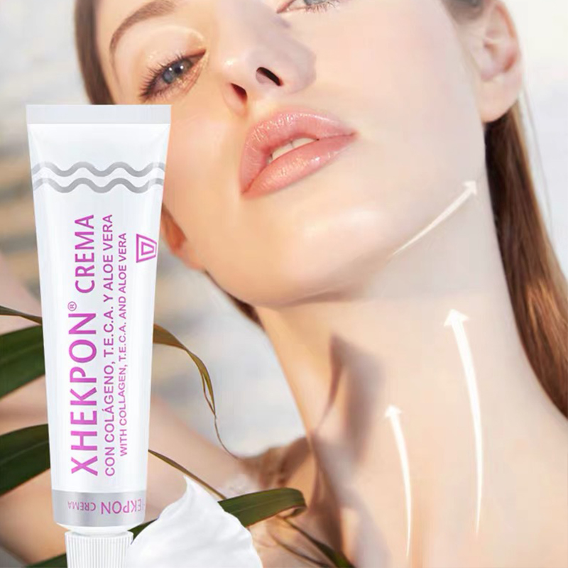 40ml Xhekpon Cream Face And Neck Wrinkle Removing Cream Neck Line Erasing Cream Wrinkle Smooth Skin Anti Aging Whitening Cream