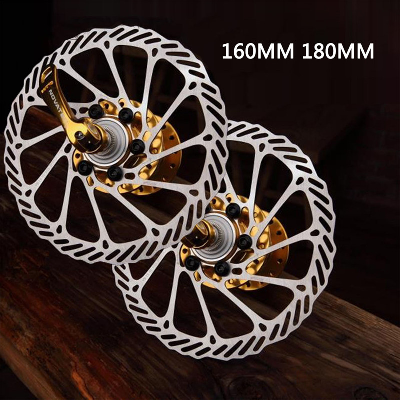 1 Piece 6 Bolts 160/180MM MTB Road Bicycle Brake Disc Rotors Hydraulic Mechnical Mountain Bicycle Disc Brake Rotor Bicycle Parts