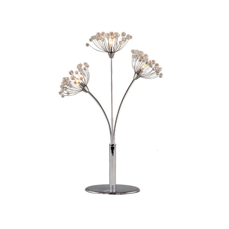 Us 100 8 40 Off Crystal Chrome Cordless Crystal Chandelier Table Lamp Lighting Fixture On Aliexpress