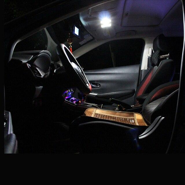 2 stücke LED-Panel Licht T10 W5W Girlande 28mm 31mm 36mm 39mm 41mm C5W Für subaru Forester Legacy Outback Impreza Tribeca BRZ XV Audi