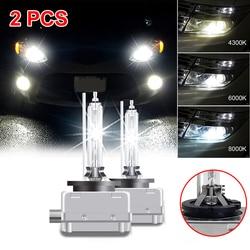 SUHU 2Pcs NEW D1S 66140 66144 85410 85415 Headlights Bulbs 6000K 35W Car LED Lamp HID Auto Headlights Conversion Lamp Kit Set