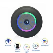 אלחוטי Bluetooth רמקול נייד עמיד למים מקלחת רמקול דיבורית לרכב עבור iPhone iPod אנדרואיד טלפונים MP3 רמקול