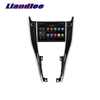 Android 2G RAM For Toyota Harrier 2015~2017 LiisLee Car Multimedia TV DVD GPS Audio Stereo Radio Navigation NAV NAVI MAP