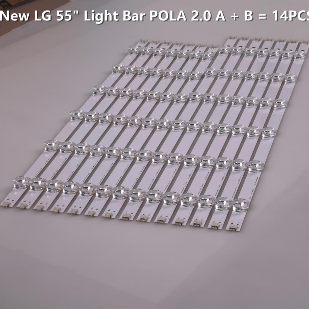 LED para LG 55LN5400 55LN6200 55LA6210 55LA6208