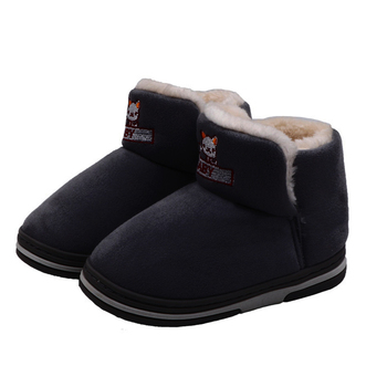 2020 Winter Kids Fur Lined Snow Boots Baby Girl Cartoon Cat Ankle Boots Anti Slip Warm Boots Infant Girls Soft Cotton Shoes D30 kids bling sequin glitter boots girls 2020 winter snow shoes anti slip fur ankle boots fashion girl sneaker botas bebe niña d30