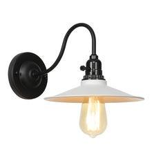 Белый Железный Лофт стиль настенный светильник Промышленный