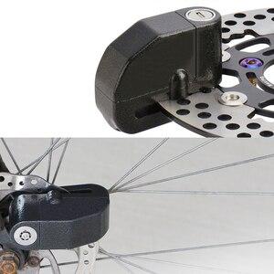 Image 3 - Cadenas dalarme pour Moto, cadenas de sécurité étanche pour Moto, accessoire de sécurité Anti vol pour freins à disques, cadenas avec sirène pour Suzuki, Kawasaki et BMW