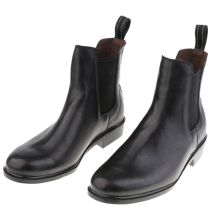 Quality Kids Children Paddock Equestrian Ankle Short Boots Horse Riding Pull On Footwear Shoes 26-29