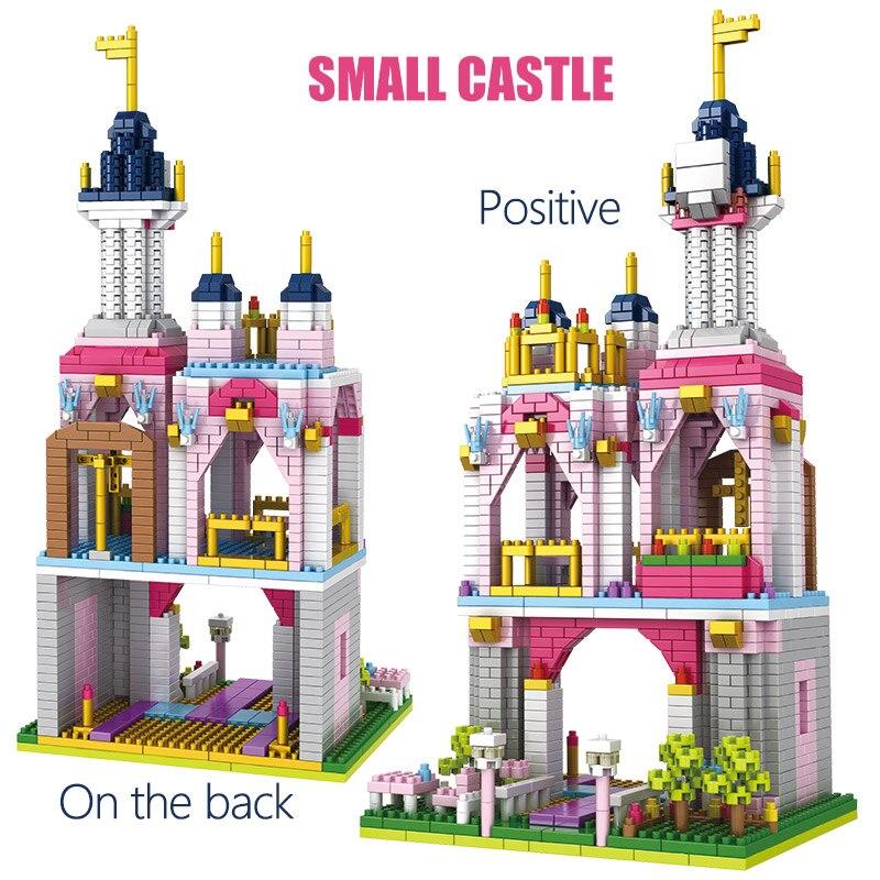 1500 pcs brinquedos para criancas amigos castelo 01