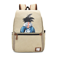 Cartoon Comics Dragon Ball Mens Cosplay Son Goku Student Backpack School Bag Bookbag Rucksack Travel Bags Purse Satchel Presents(China)