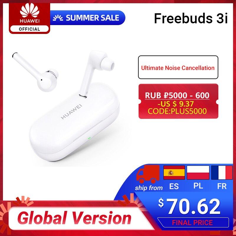 ¡CHOLLAZO! Huawei Freebuds 3 por 54 euros (-34% desc.)