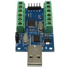 USB Communication ADC Module 10 Channel STM32 12Bit AD Data Acquisition UART