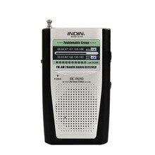 Radio portátil para ancianos AM/FM incorporado en el altavoz Vintage bolsillo Mini Radios Universal AM FM mundo receptor BC-R20 de alta calidad