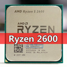 AMD Ryzen 5 2600 R5 2600 3.4 GHz a Sei Core 65W Processore CPU YD2600BBM6IAF Presa AM4 PC desktop processore
