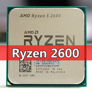 AMD Ryzen 5 2600 R5 2600 3.4 GHz Six-Core 65W CPU Processor YD2600BBM6IAF Socket AM4 PC desktop processor