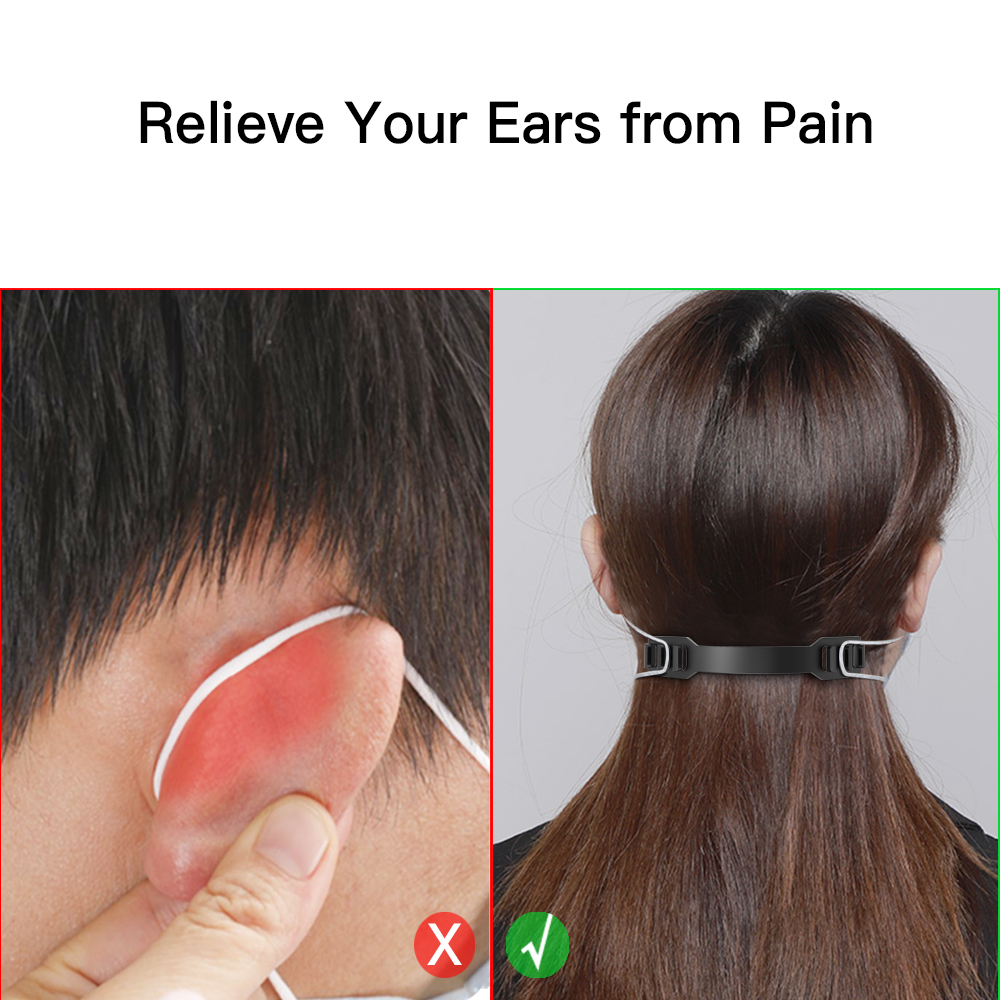 Hot DealsStrap-Holder Mask Extension Ear-Protector 10pcs for PE Grip Anti-Tightening Release-Pain