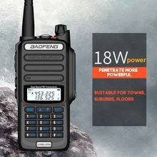 Walkie Talkie VHF UHF 18W Transceiver Two Way Radio With Antenna 128 Channel(China)