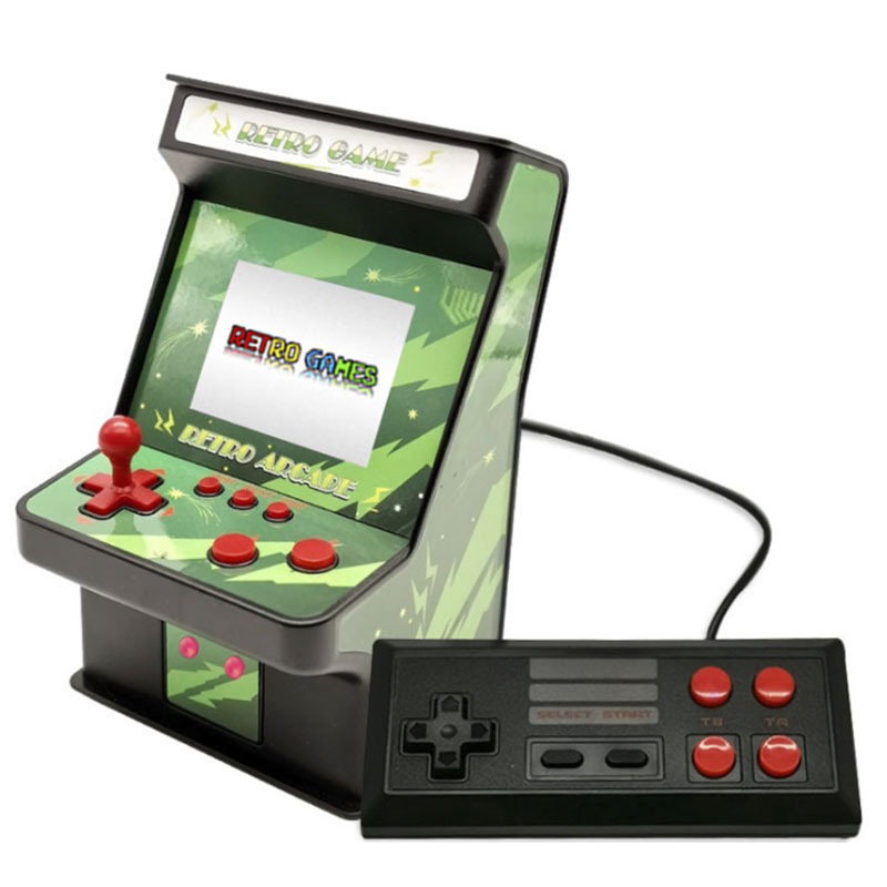 2 8 Inch Classic Video Game Console Arcade Machine 8 Bit Game Console Built In 256 Games 2 Players Support Tv Output Retro Handheld Game Players Aliexpress