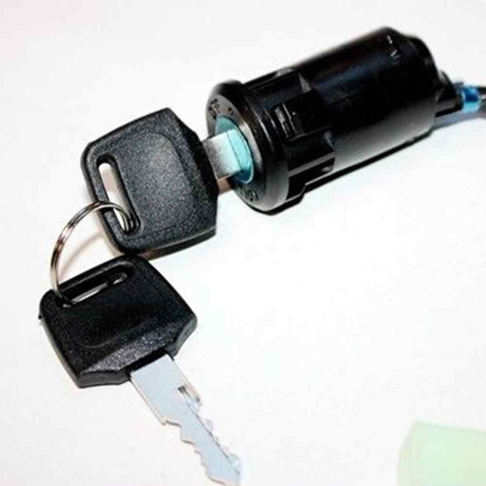 Motocicleta Off-road modificado universal pequena alta jogo ATV porta elétrica bloqueio interruptor de chave interruptor de arranque da ignição