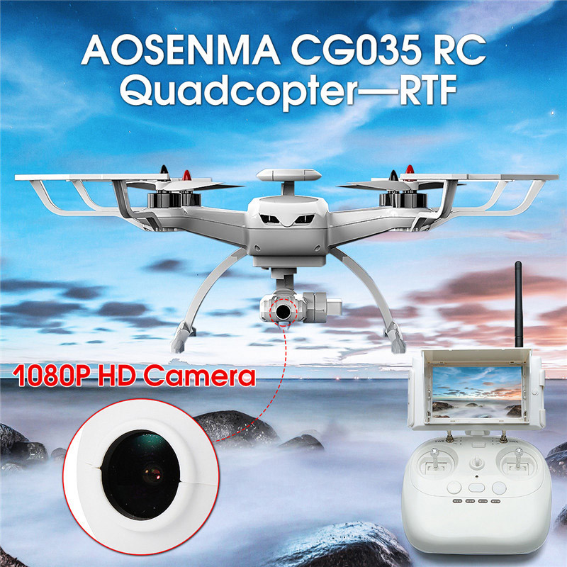 AOSENMA <font><b>CG035</b></font> Double GPS Optical Positioning WIFI FPV With 1080P HD Camera RC <font><b>Drone</b></font> Quadcopter Heclicopter Toy VS Bayangtoys X21 image
