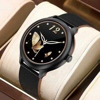 2021 New Women Smart Watch men Lightweight Smart Watch Women Fitness Sleep Monitor Waterproof Call Reminder for iPhone Android 1