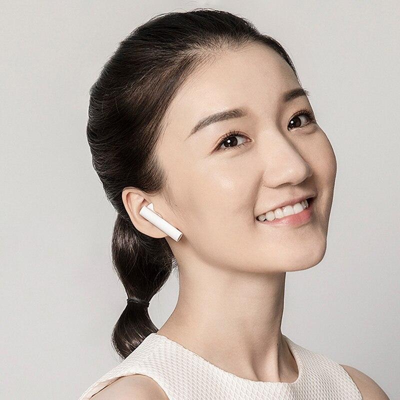 Original Xiaomi Air 2 TWS Airdots Pro 2 Mi Air 1 vrai sans fil écouteurs ENC Bluetooth 5 robinet contrôle vocal LHDC dynamique - 6