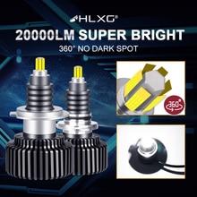 Hlxg 9012 HIR2หมอกไฟH11 H1 H8 H9 H7 H4 LEDไฟหน้าHb4 Hb3 9005 9006 12V 6000K 72 CSP Turboรถหลอดไฟหน้าหลอดไฟอัตโนมัติ