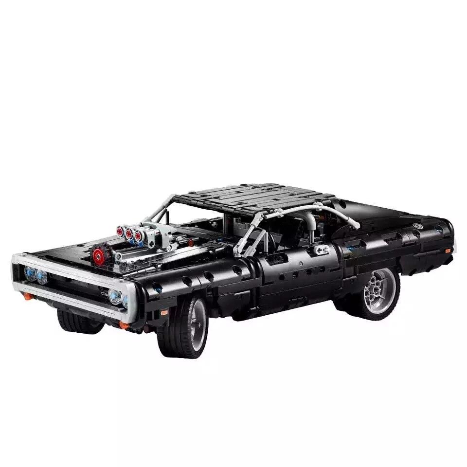 Новинка 2020, технический автомобиль, серия Supercar Dom S, модель зарядного устройства, блоки, строительные блоки, кирпичи, игрушка, рождественский ...
