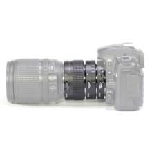 Pixco Nikon Metal automatyczne ustawianie ostrości pierścienie pośrednie makro zestaw MK N AF1 A 12 + 20 + 36mm