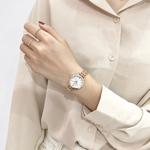 Women Fashion Luxury Golden Stainless Steel Watches