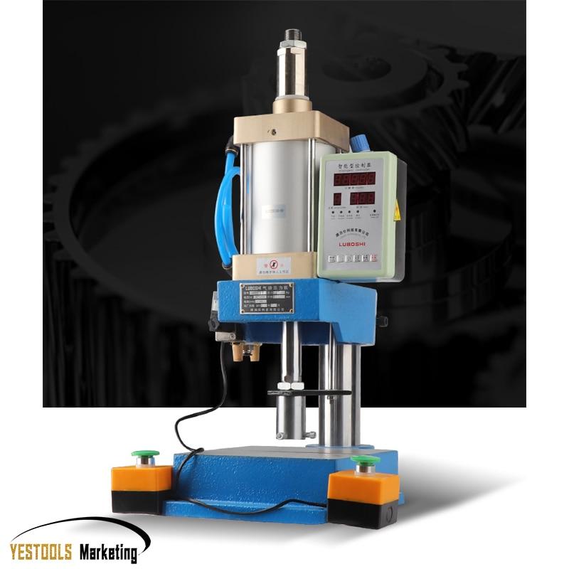 Пневматическая пресс-машина маленькая настольная машина для пробивки 200 кг