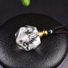 Ароматический Рид диффузор натуральный кристалл домашняя подвеска в виде бутылочки парфюма ожерелье женское масло аромат Zakka Difusor ароматы подарок на день рождения