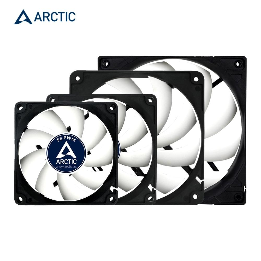 """הארקטי F9PWM F12PWM F14 PWM ו PST 9cm 12cm 14cm 4pin 600-1350 סל""""ד מחשב קירור מאוורר שקט מעבד כוח cooler מארז מקרה מאוורר"""