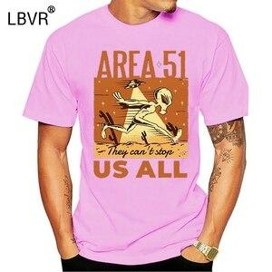 Area 51 Alien - Men'S Funny Premium T-Shirt Summer O Neck Tops Tee Shirt(China)
