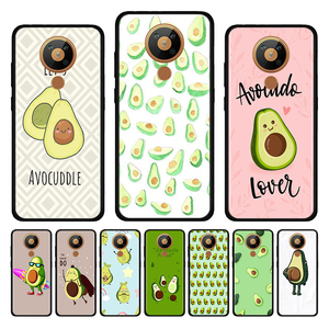 Avocado Phone for Nokia 2.4 3.4 C3 C5 Endi C2 tenen tava 2.2 2.3 3.2 4.2 6.2 7.2 1.3 5.3 8.3 Case Silicone Shell
