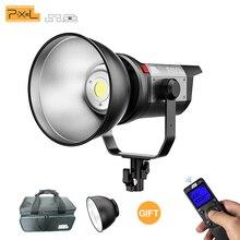 Pixel c220 220 w flash led vídeo filme luz 5600 k fotografia iluminação profissional sem fio de controle para youtube vídeo tiro
