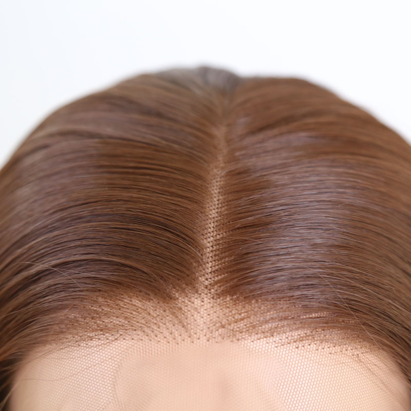 do cabelo da fibra peruca completa sintética