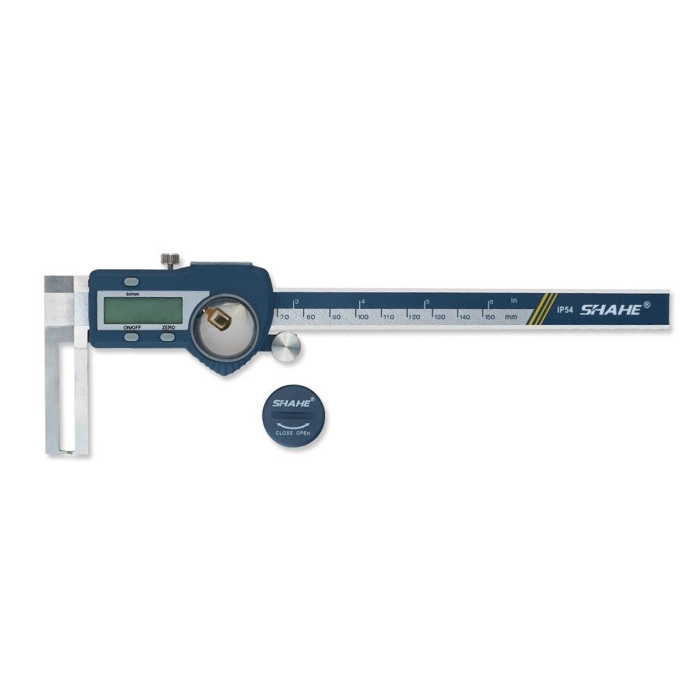 Tools : SHAHE 8-150 mm digital Inside Groove Caliper Stainless steel Vernier Calipers Gauge Paquimetro digital Measuring Tools