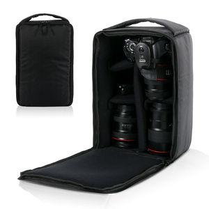 Image 3 - Bolsa de cámara impermeable a prueba de golpes, funda de transporte acolchada para SLR, Canon, Nikon, Sony