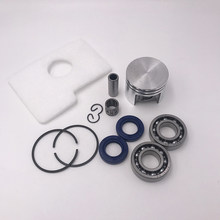 Hundure Motor Piston Crankshaft Oil Seal Seal Air Filter Kit untuk Stihl MS180 MS 180 018 Gergaji Mesin Suku Cadang 38 MM(China)
